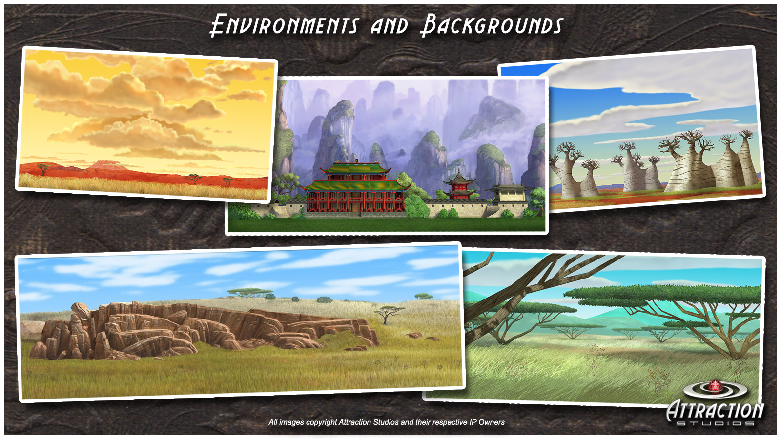 Environments and Backgrounds B 16x9